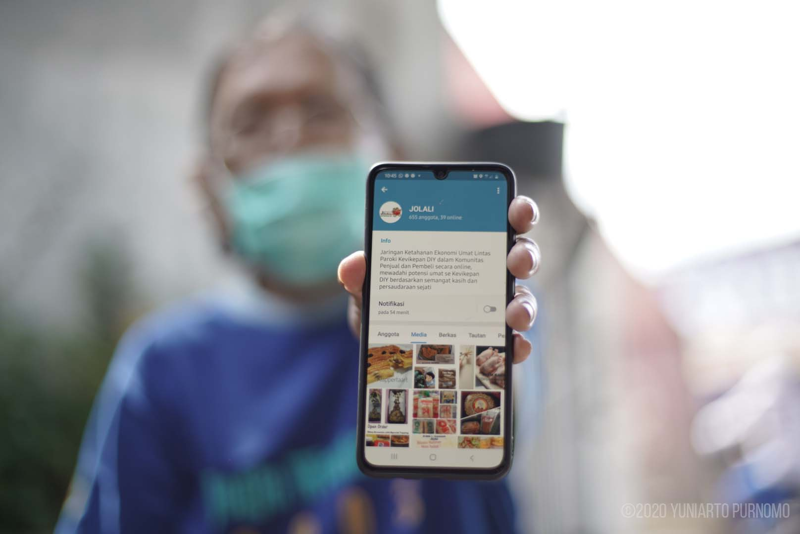 """Read more about the article """"Jolali,"""" Sebuah Gagasan Pasar Daring yang telah Membantu Umat se-Kevikepan DIY"""