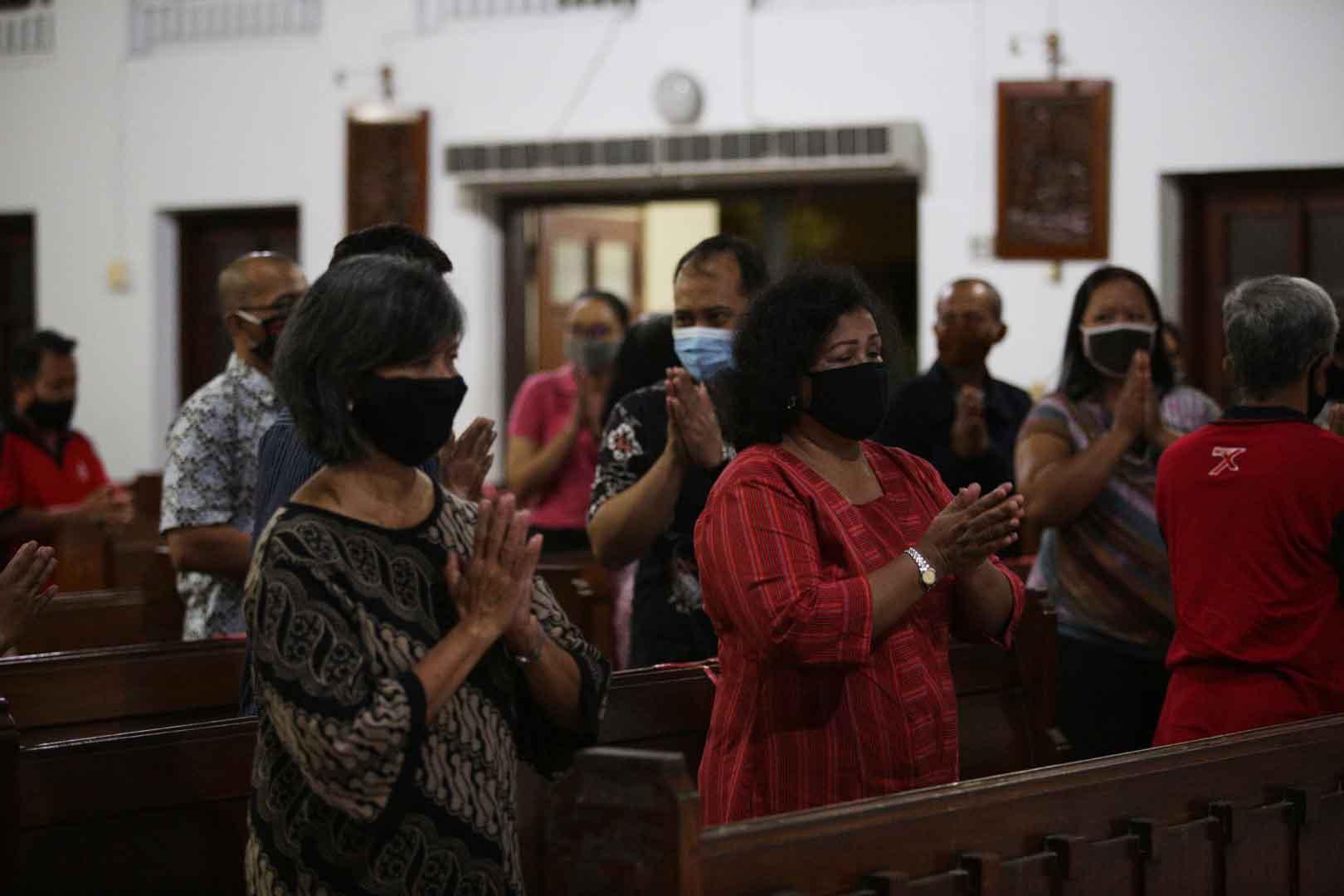"""Read more about the article Jadwal Ekaristi selama Masa """"New Normal"""" di Seluruh Wilayah Paroki HKTY Pugeran"""
